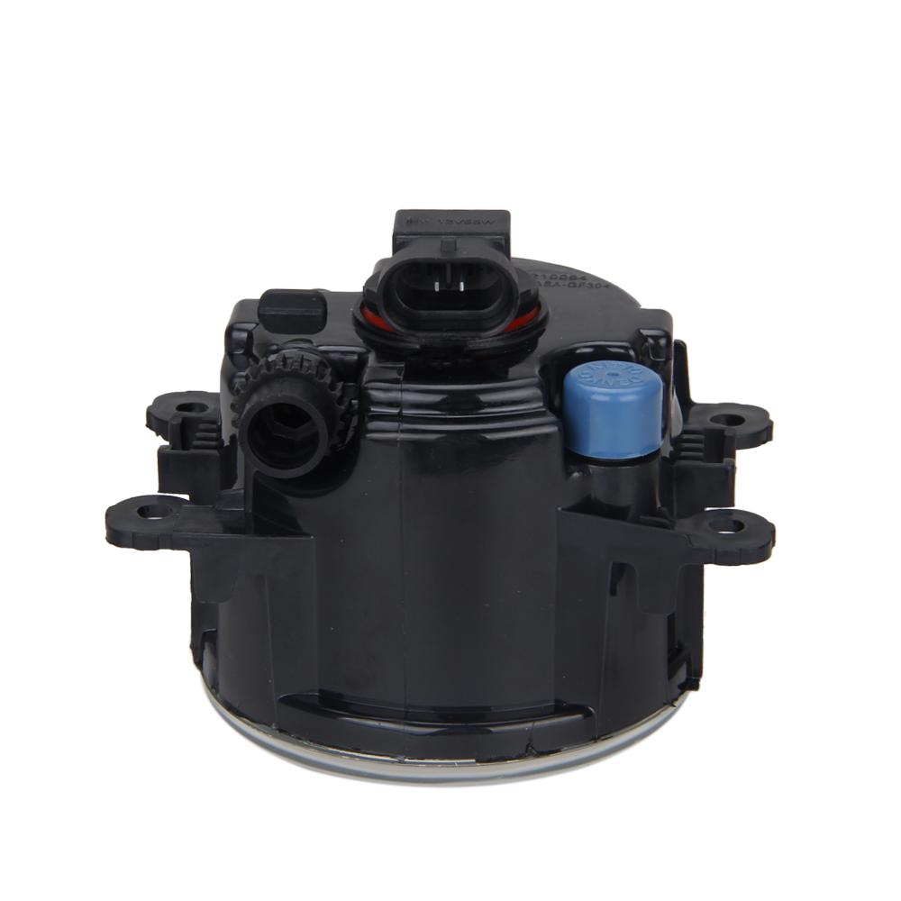 2X Front Fog Light Lamps DRL For Focus Fiesta MK6 MK7 Plug