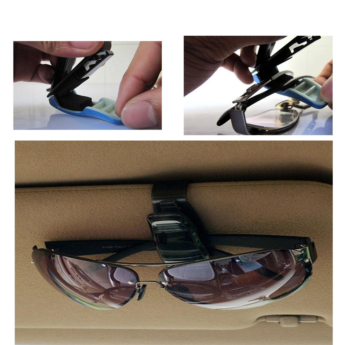a7b54fdc665 Details about 1X New Car Auto Sun Visor Sunglasses Eye Glasses Clip Case  Phone CD Holder Clip