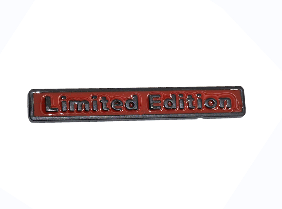 3D Limited Edition chrome metal sticker emblem decal badge 140x12mm S//A sign car