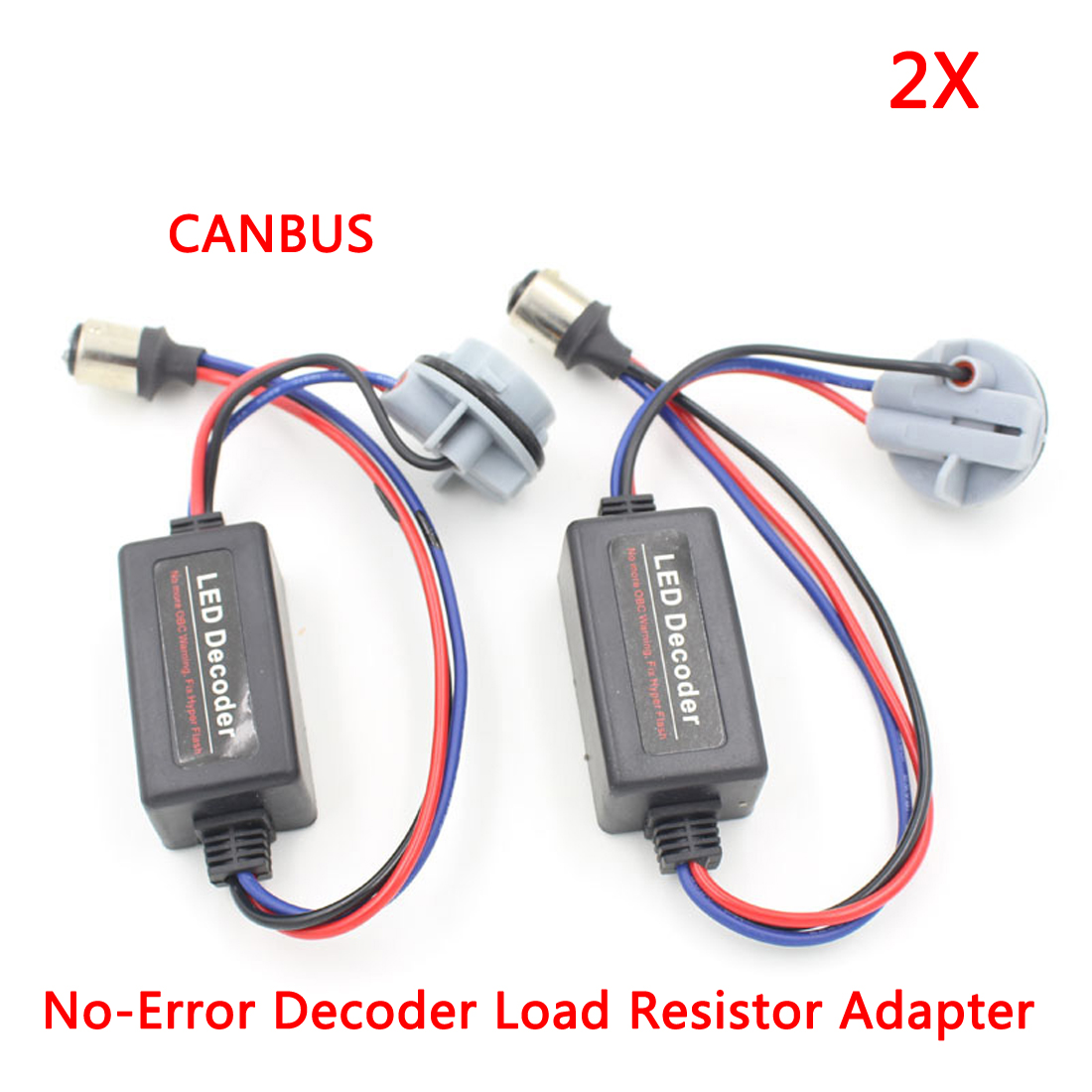 1157 Bay15d P21 5w Led Bulbs Canbus No Error Decoder Load Resistor Picture Of Choosing The To Use With Leds 2 X