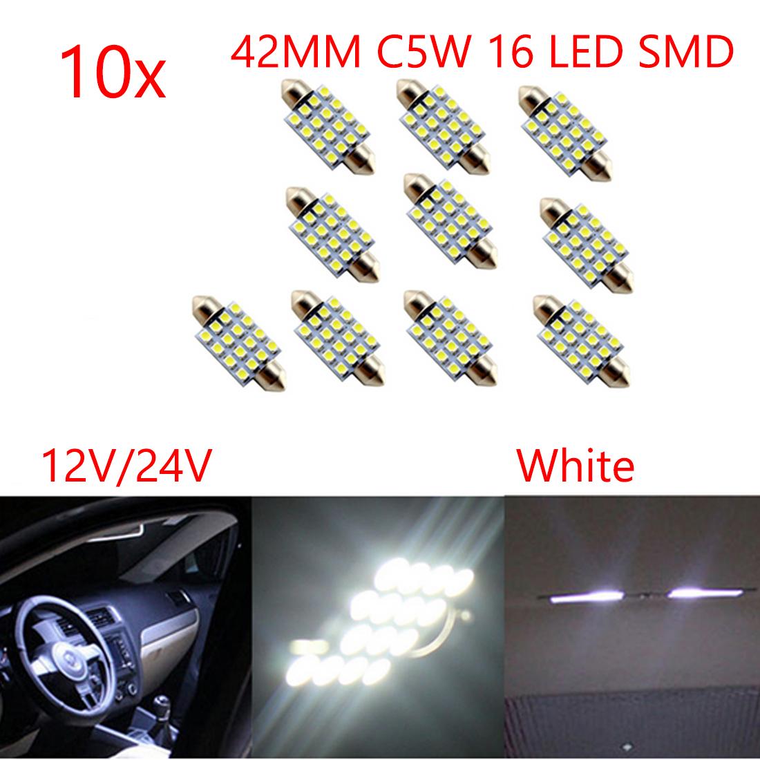 Porsche Boxster 986 264 42mm White Interior Boot Bulb LED High Power Light