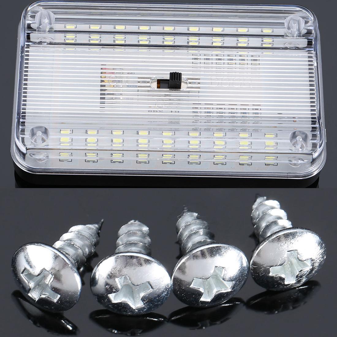 led white auto car van bus interior ceiling dome roof light lamp bulb kit