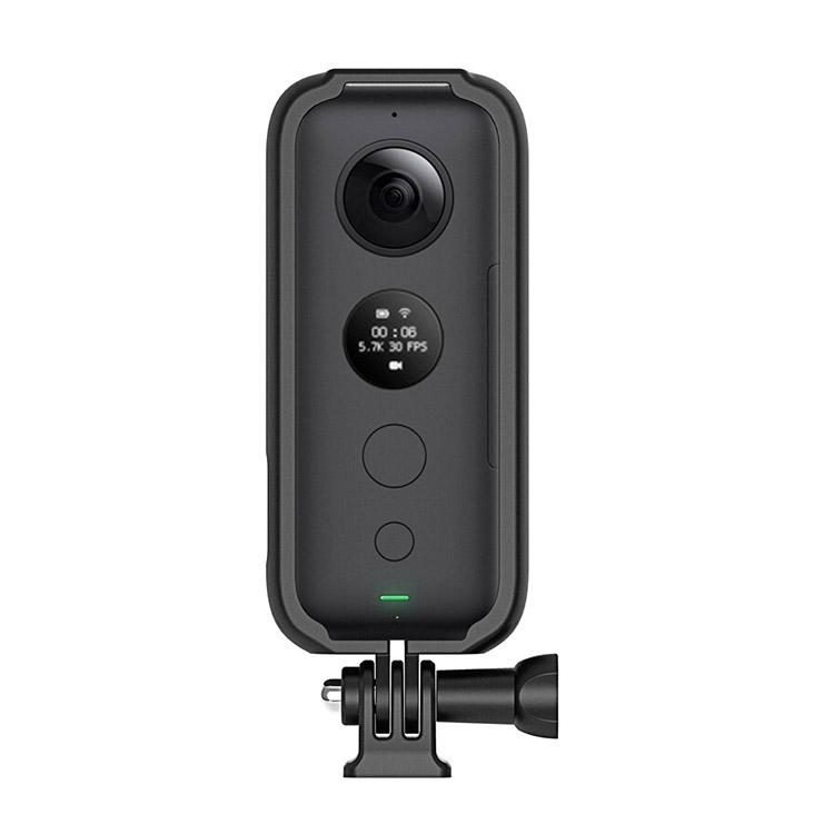 Schwarz Silikon Insta360 Objektivdeckel f/ür ONE X Panorama Action Kamera