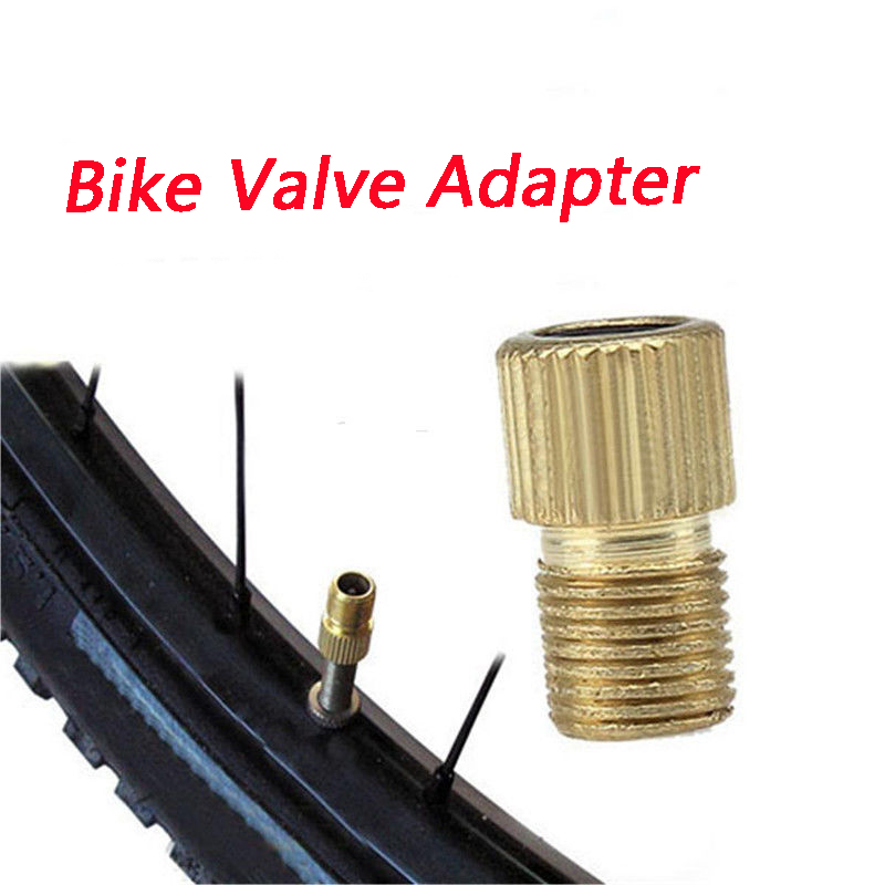 2 X Valve Adapter Presta To Schrader Converter Road Bike