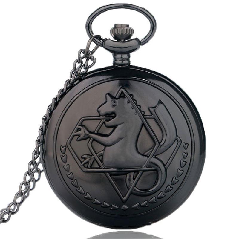 Fullmetal Alchemist Pocket Watch Men Cosplay Edward Wlric ...