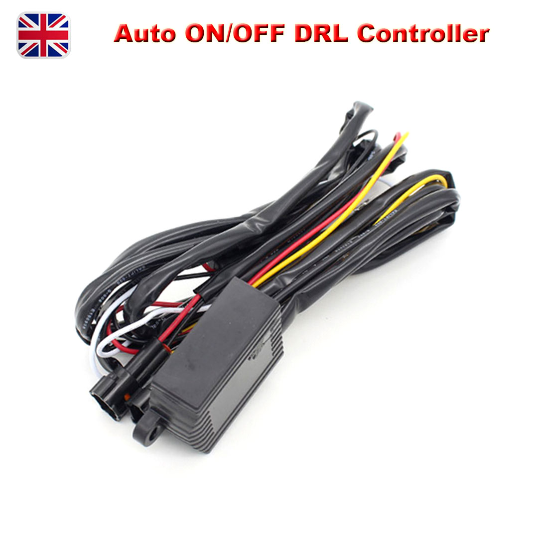 12V Car LED Daytime Running Light DRL Relay Harness Automatic On//Off Switch UK