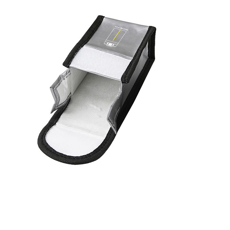 PVC Feuerfest Batterie Tasche Schutz Hülle Case für DJI Mavic Mini Lipo Batterie