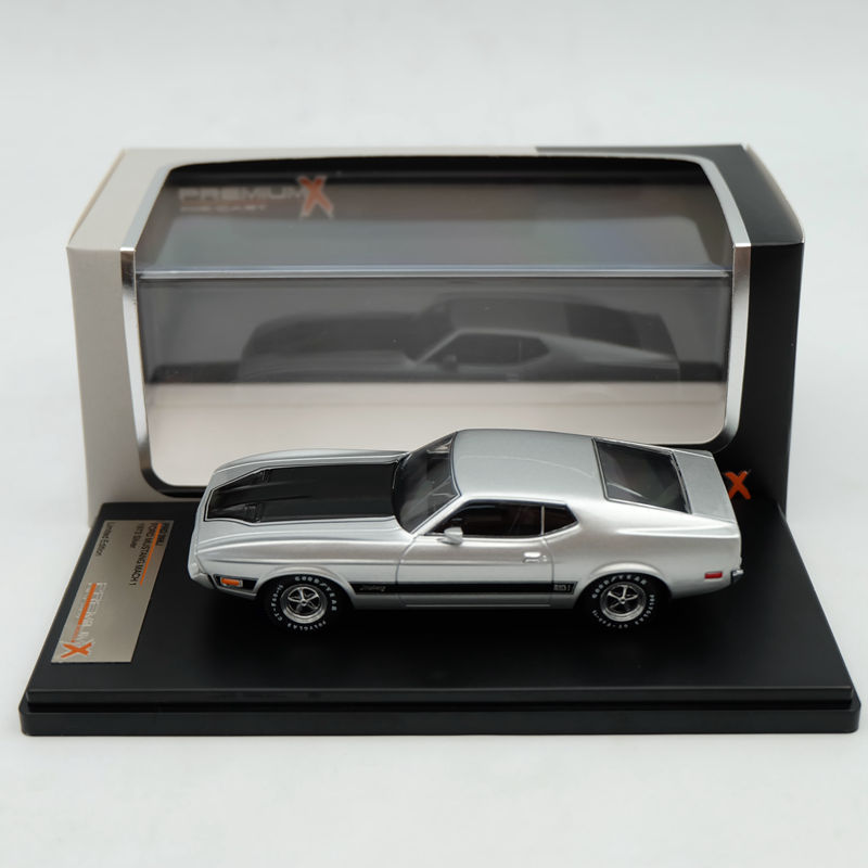 Premium X 1:43 Ford Mustang Mach 1 1973 Blue PRD399J Models Auto Limited Edition