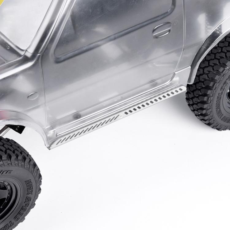 1//10 RC Crawler Metall Seitenpedal Platte Side Pedal Plate für Traxxas TRX-4
