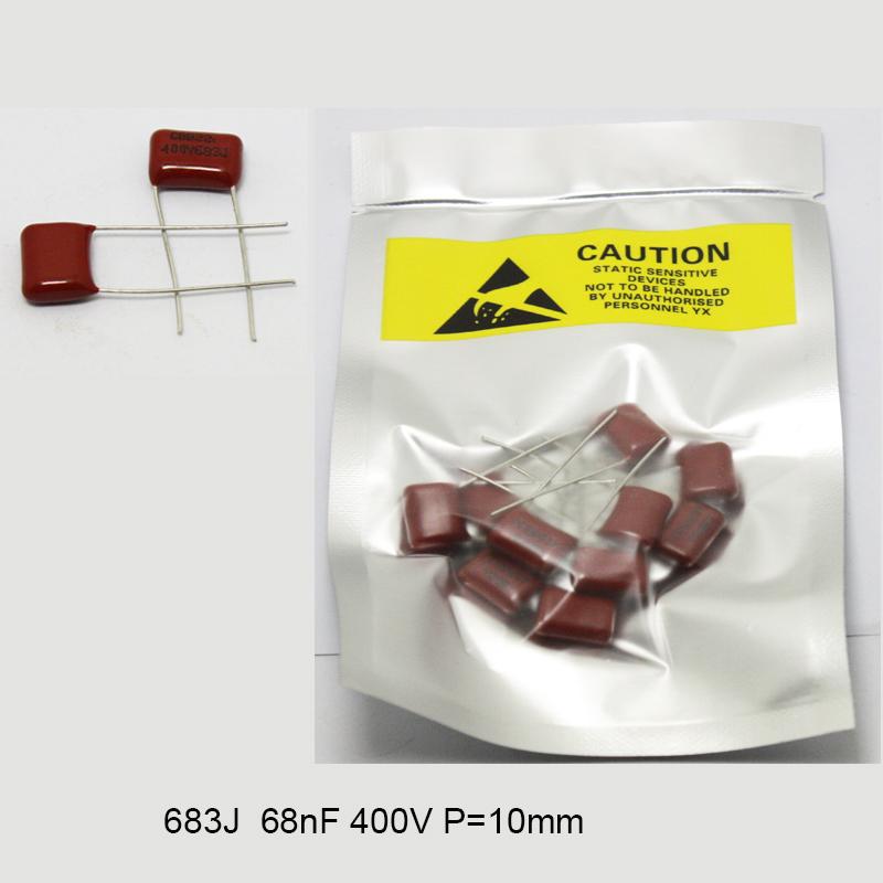 CBB 400V Metallized Capacitors Electric Capacity 104J 155J 224J 334J 474J 683J
