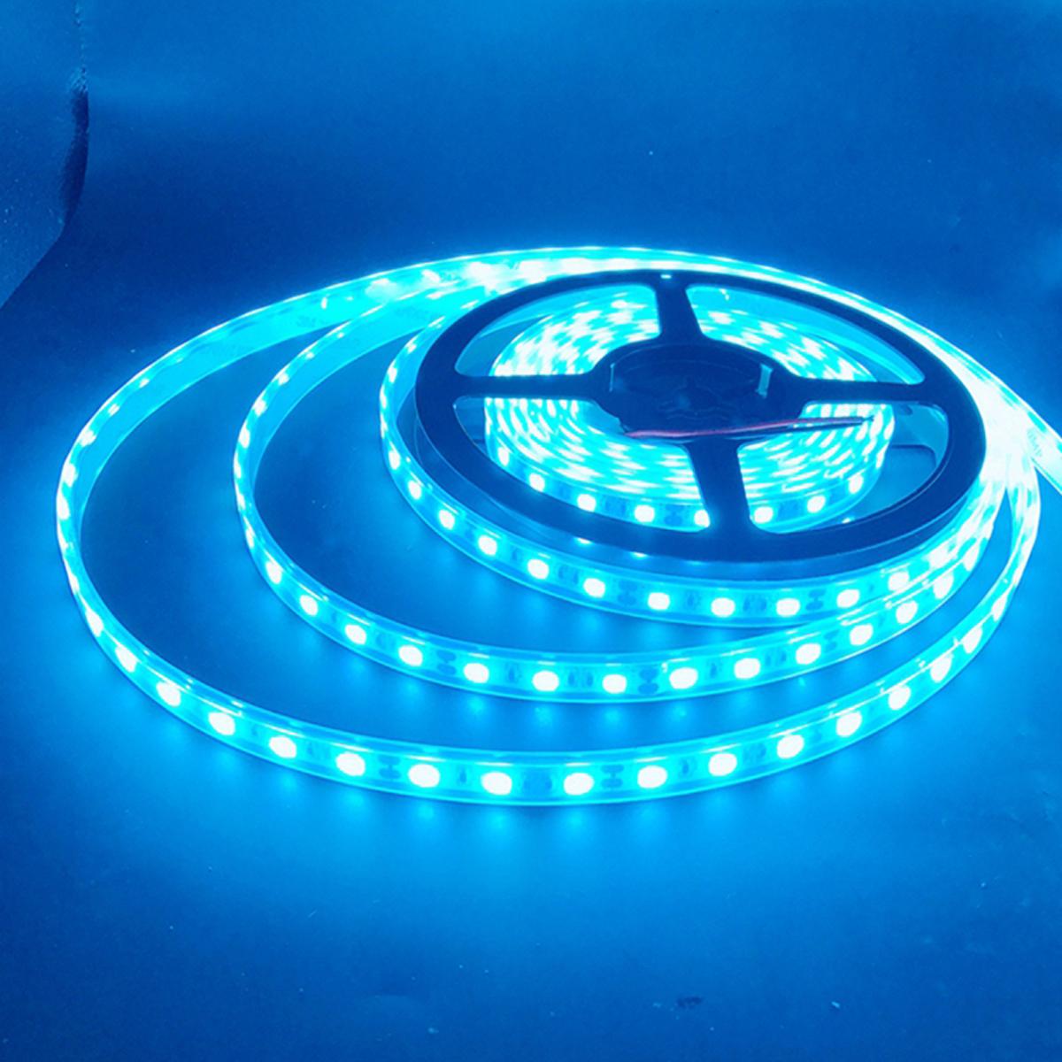 Waterproof 5050 Tape Light: 1/2/3/4/5M SMD 5050 RGB White Blue Waterproof LED Flexible